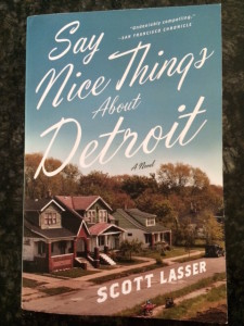 Say nice things about Detroit book